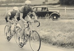 Tony Wills competing in the 1950s