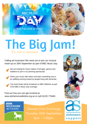 The Big Jam flyer