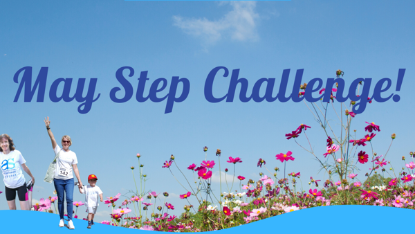 May Step Challenge appeal
