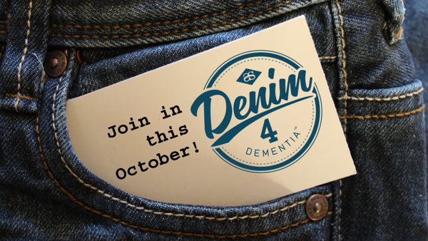 October is Denim4Dementia month pocket picture